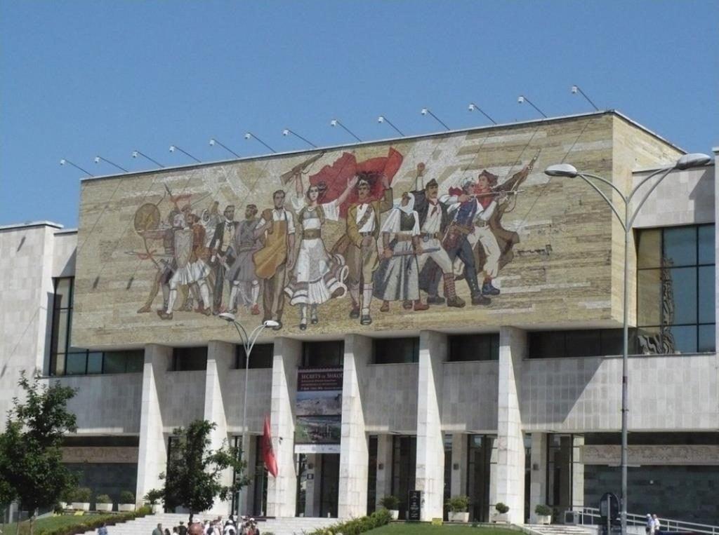 Национальный исторический музей, Тирана