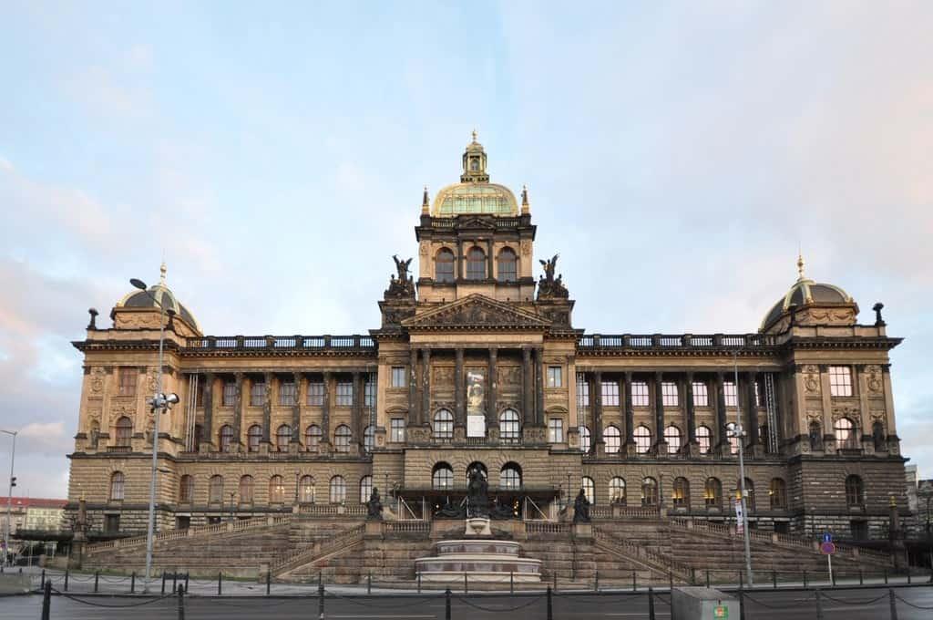 Национальный музей (Národní muzeum – Historická budova) Прага (Praha) – Чехия