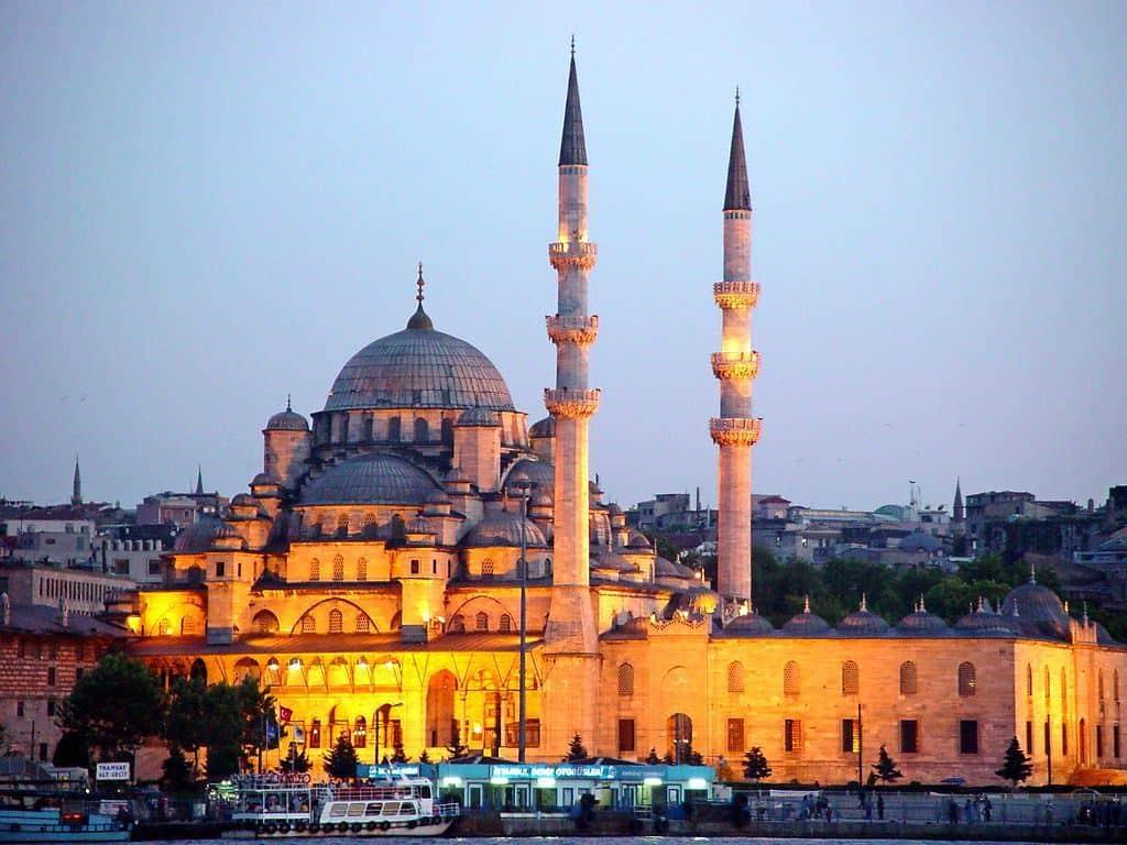 Новая Мечеть (Yeni Cami) Стамбул (Istanbul) - Турция