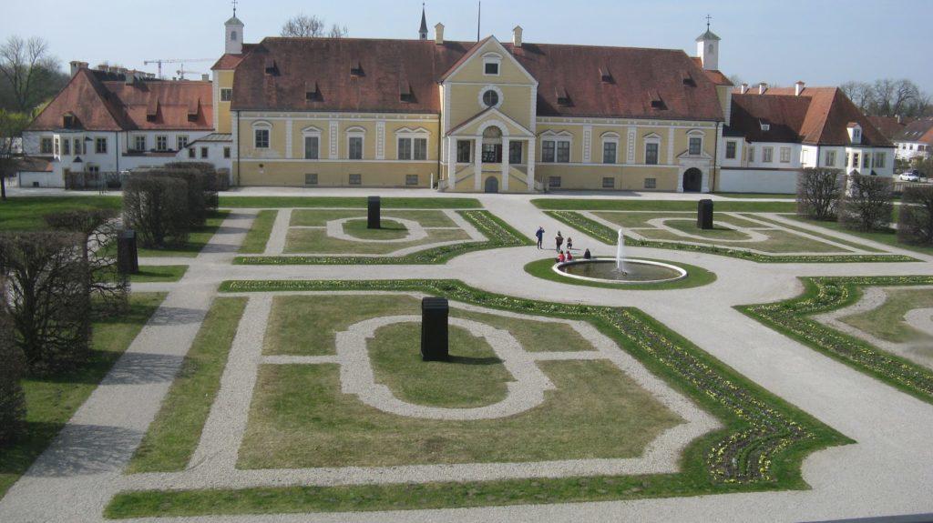 Старый Дворец Шлайсхайм (Altes Schloss Schleißheim)