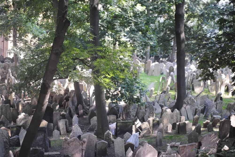 Старое еврейское клабдище (Starý židovský hřbitov)