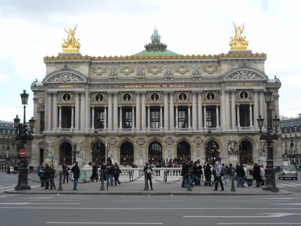 Опера Гарнье (Opéra Garnier), Париж