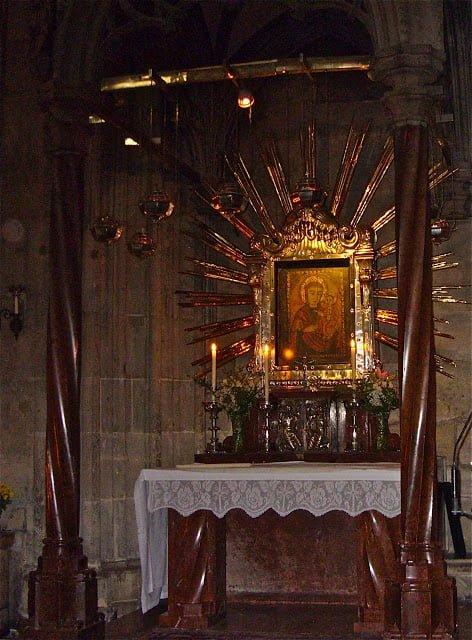 Пёчская мадонна, Собор Святого Стефана, Вена — Австрия