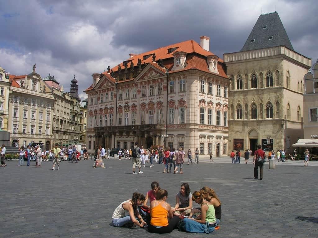 Дворец Кинских (Palác Kinských) Прага (Praha) – Чехия