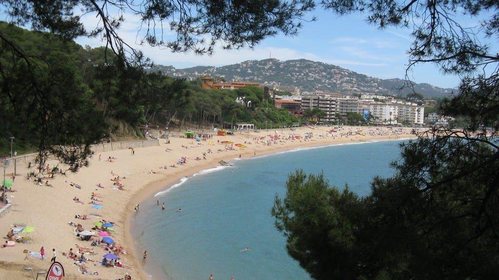 Пляж Феналс (Platja de Fenals) Льорет-де-Мар