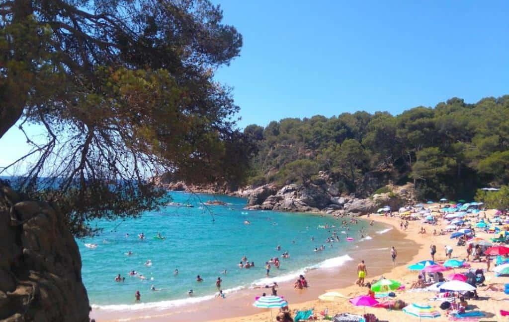 Пляж Святой Кристины (Playa de Santa Cristina)