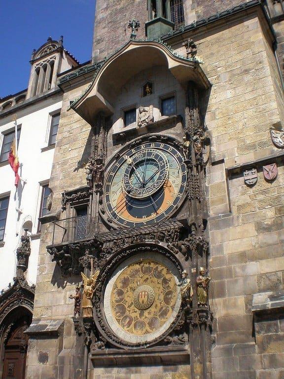 Пражские куранты, или орлой (Pražský orloj)