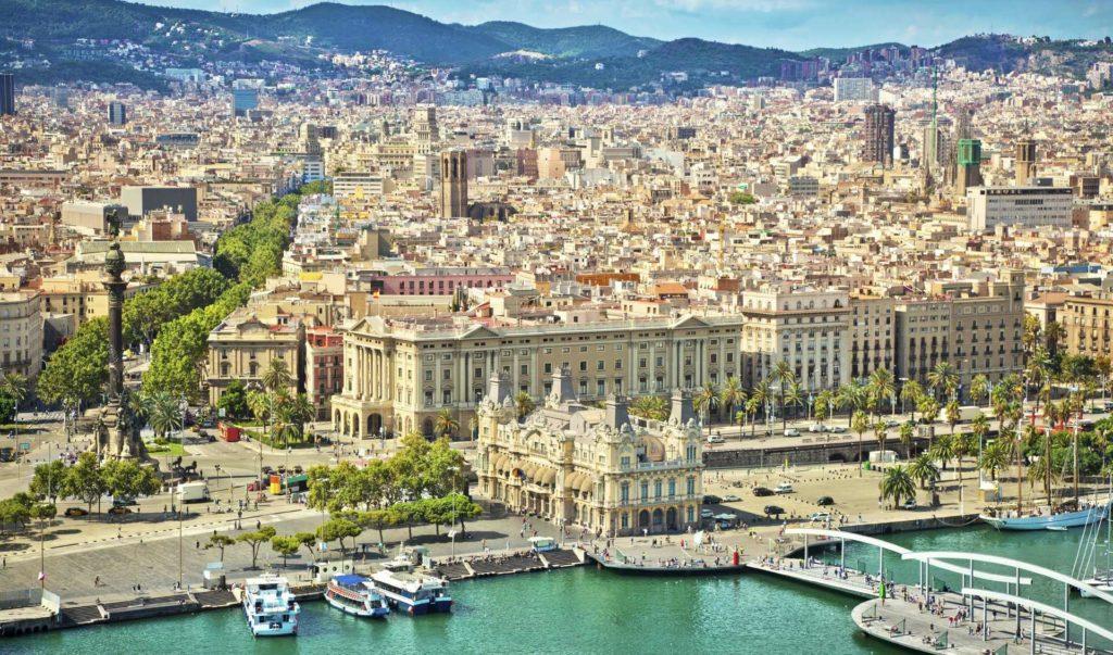 Солнечная и яркая Барселона (Barcelona)