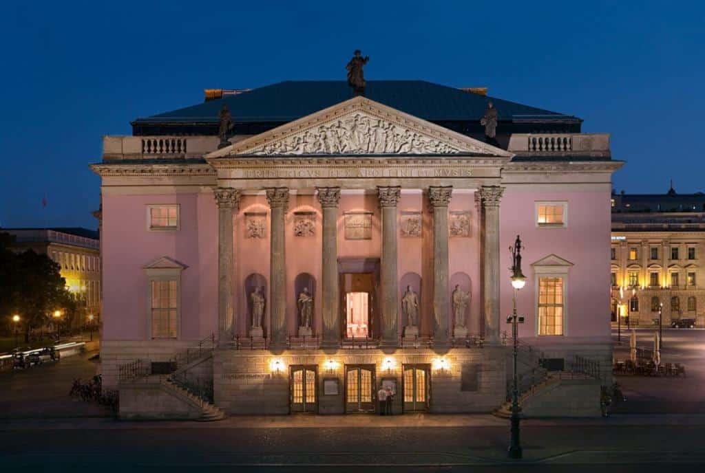 Берлинская государственная опера (Staatsoper Berlin) Берлин