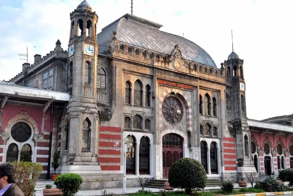 Вокзал в Сиркеджи (Вокзал в Сиркеджи (Sirkeci Garı), Стамбул - конечный пункт следования Восточного экспресса
