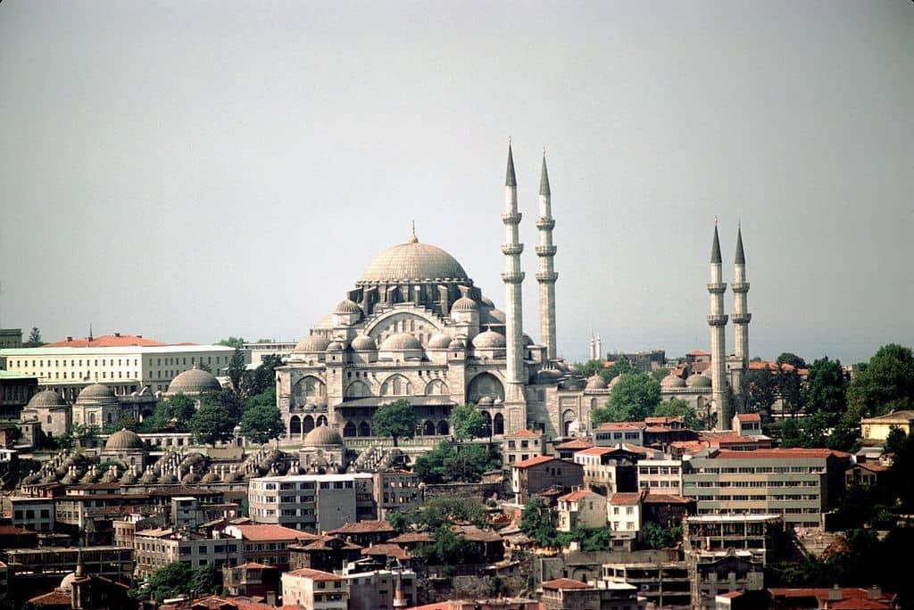 Мечеть Сулеймание (Süleymaniye Camii) Стамбул (İstanbul) - Турция