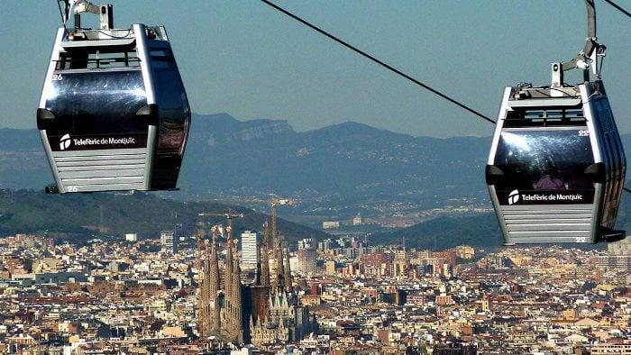 Телеферик Монтжуик. Фуникулер в Барселоне - Барселона на общественном транспорте