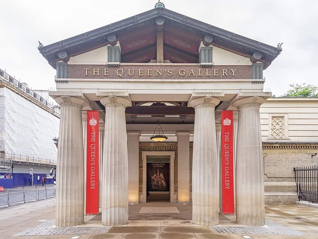 Королевская галерея (The Queen's Gallery), Букингемский дворец - Лондон