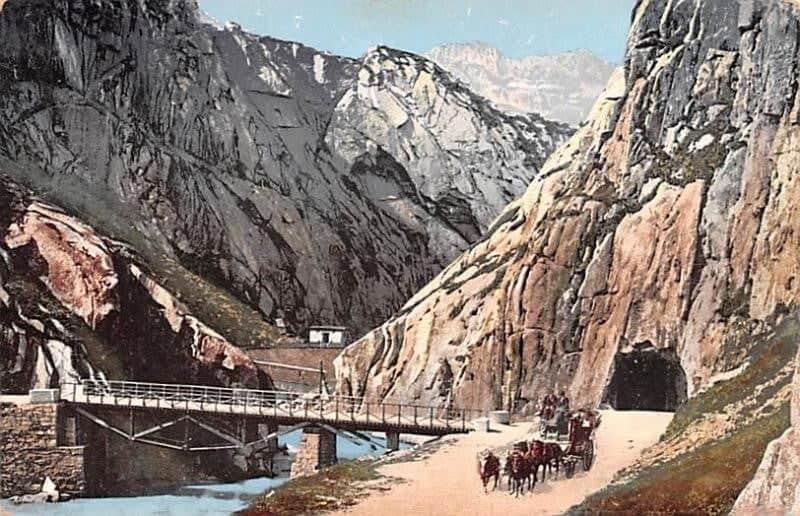 Первый в Швейцарии автомобильный тоннель, заменивший Twärrenbrücke