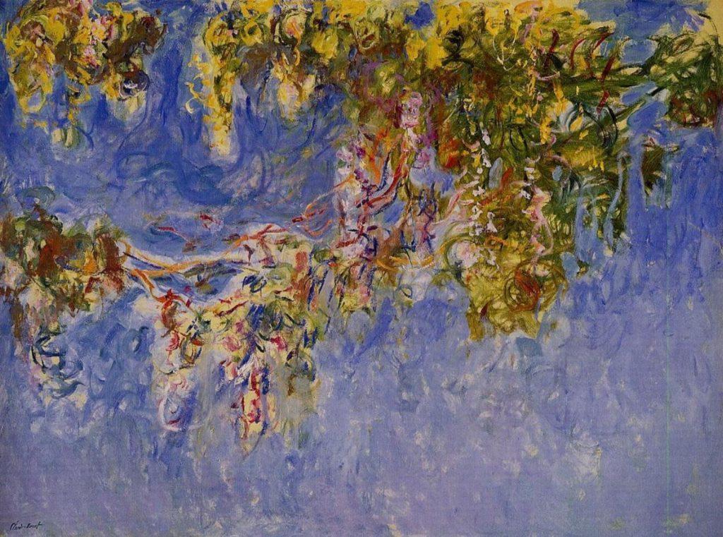 Глицинии, Клод Моне, 1920 г.