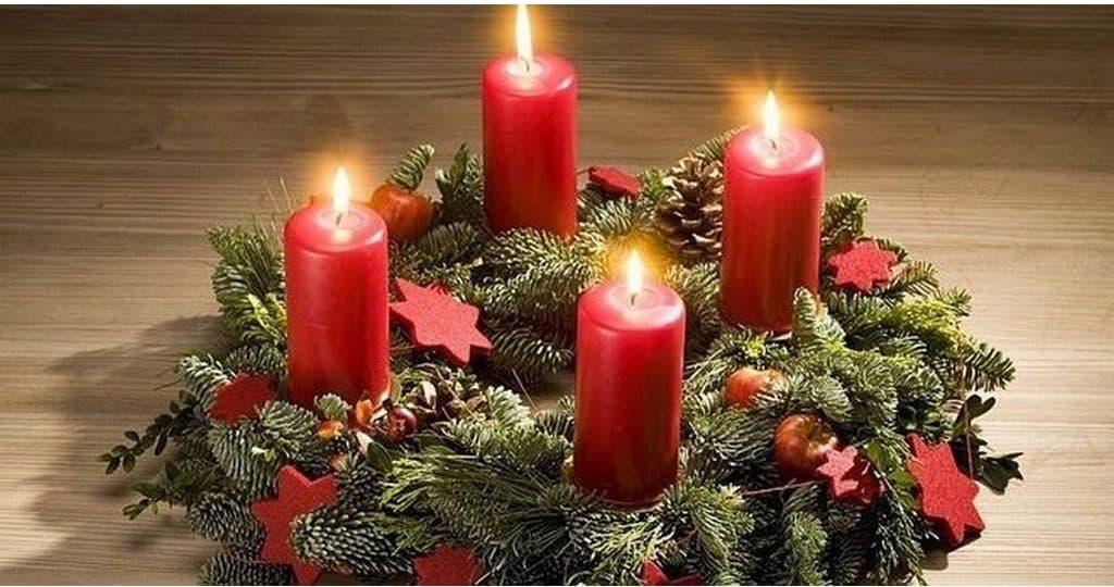 Венок Адвента С Рождеством Христовым