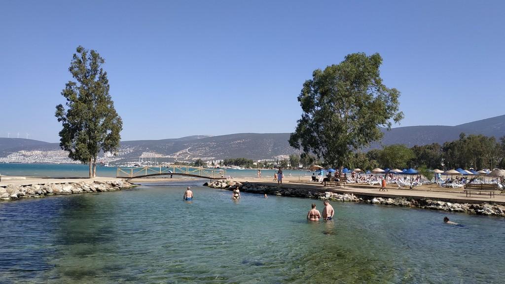Эгейское море (залив в Акбуке), Турция