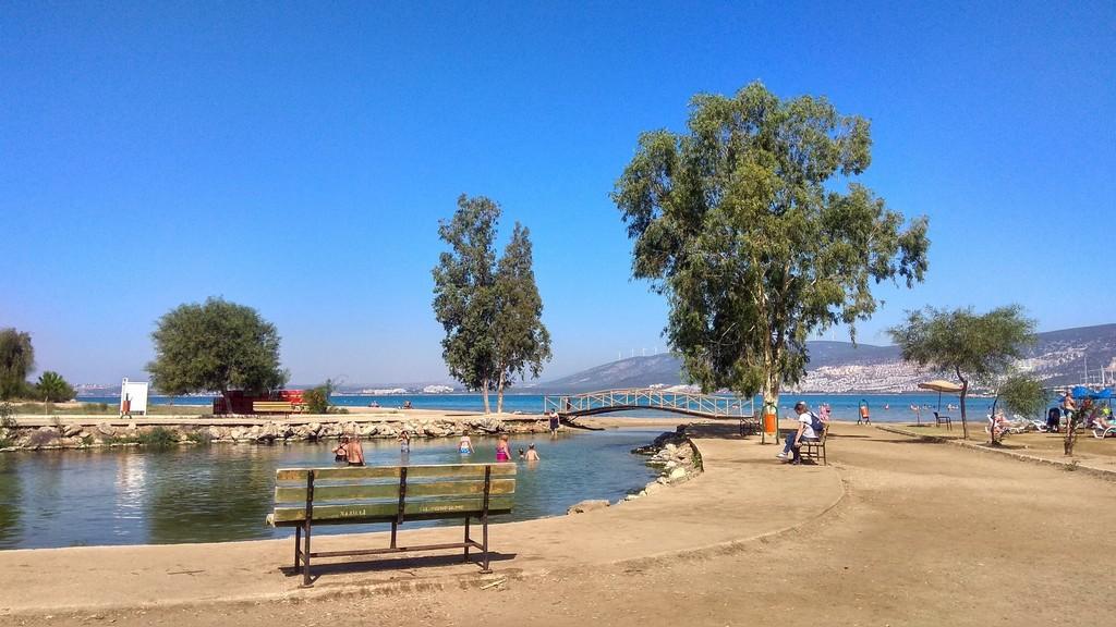 Залив в Турции (Эгейское море)