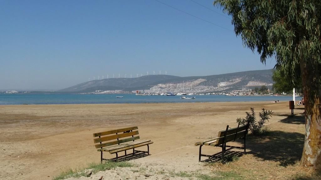 Общественный пляж, Акбук - Kerem Sitesi Sahil