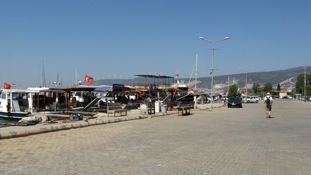 Гавань в Акбуке, Турция