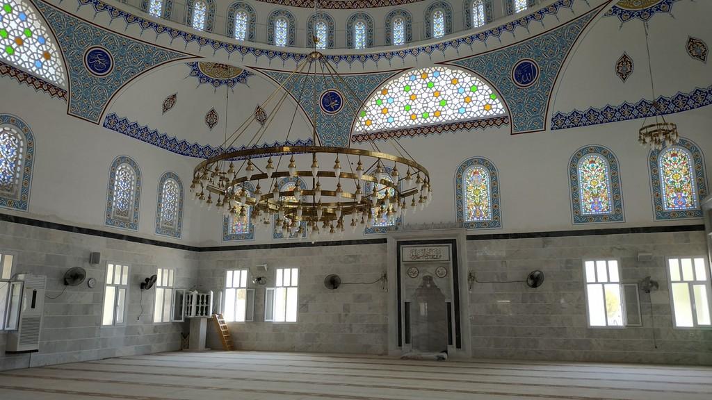 Мечеть внутри, Акбук (Турция)