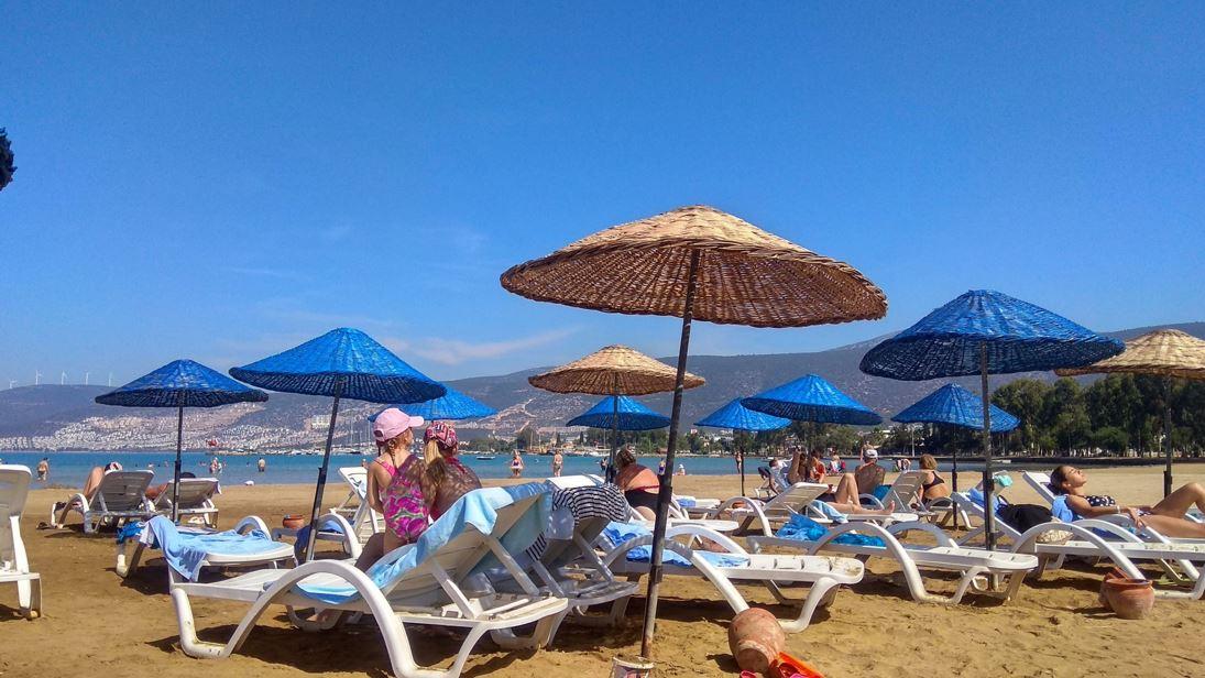 Пляж Егейского побережья, Турция - Акбук