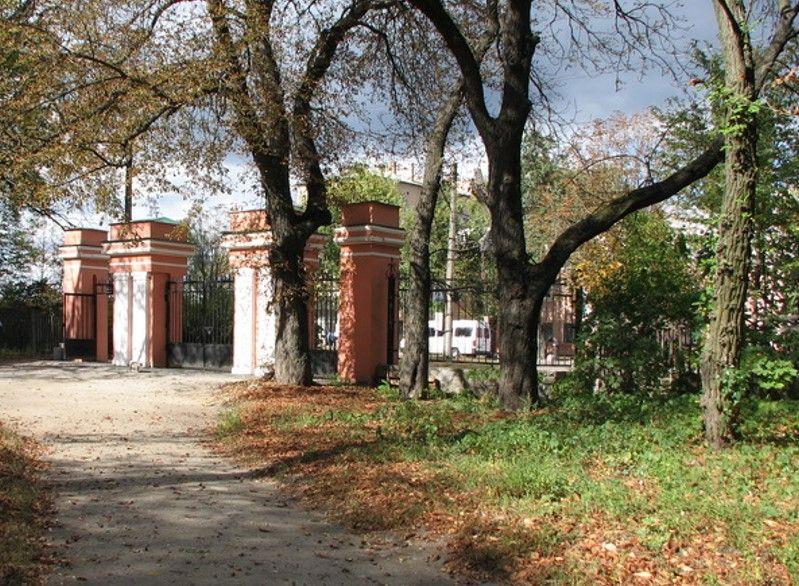 Северные ворота парка Александрия (Белая церковь)
