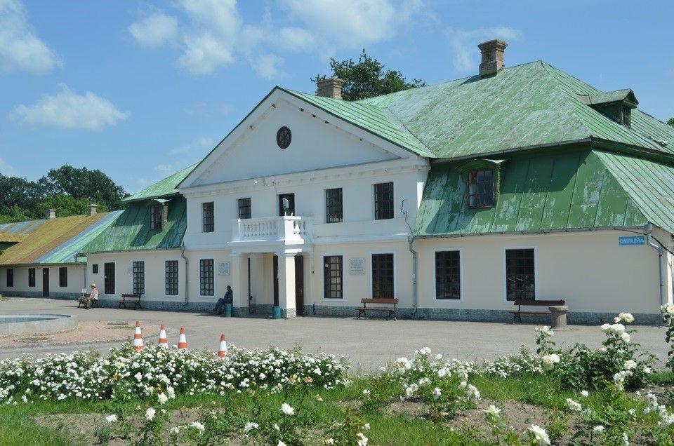 Музей и административное здание, Дом садовника Александрия Белая церковь
