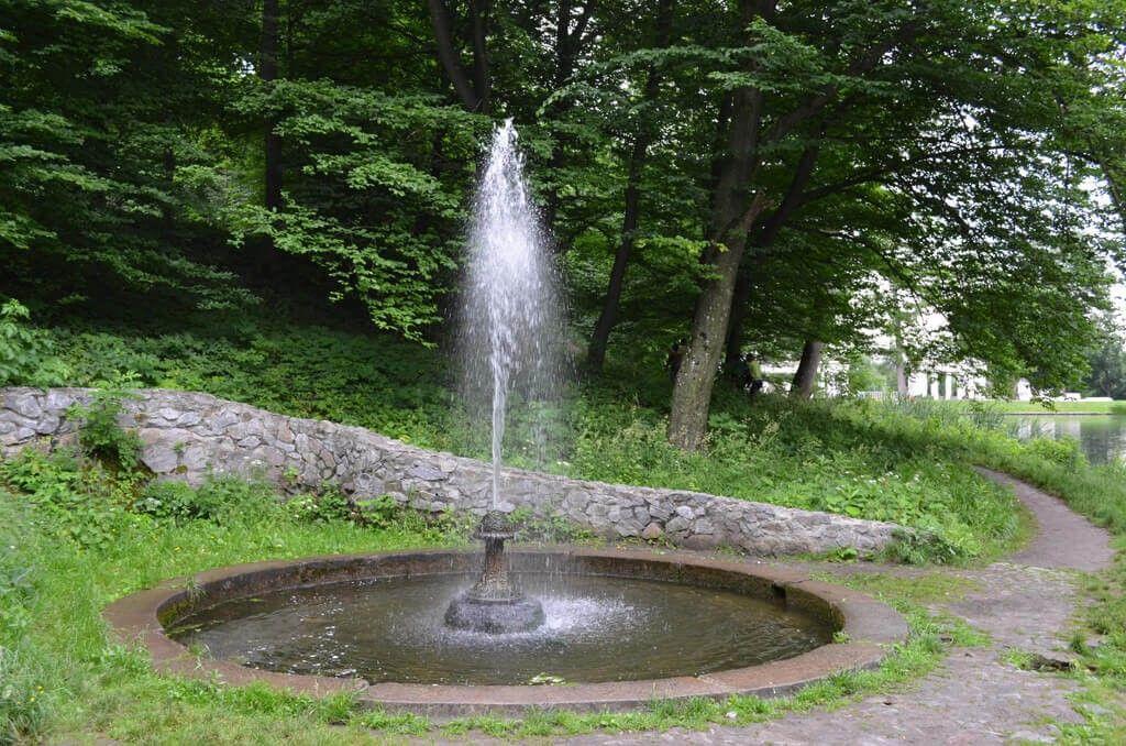 Парк Александрия - фонтан
