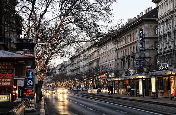 Проспект Андраши Будапешт