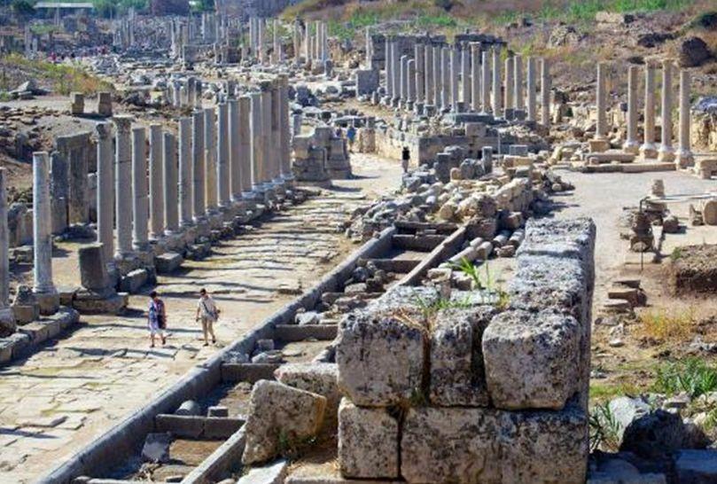 Руины древнего Перге, Турция - Анталия