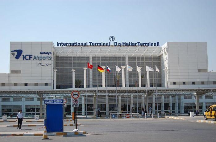 Аэропорт, Анталия - Турция