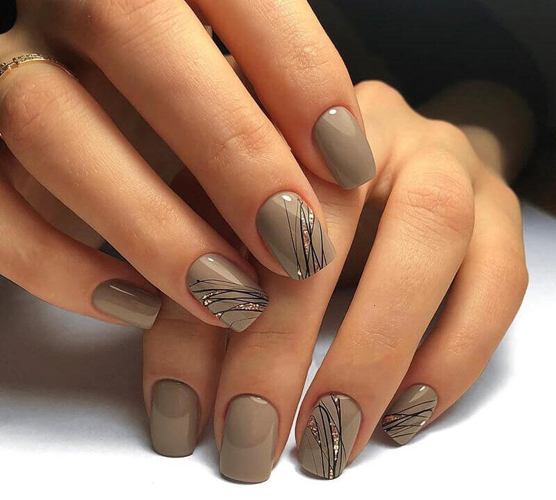Паутинка на ногтях — новый тренд