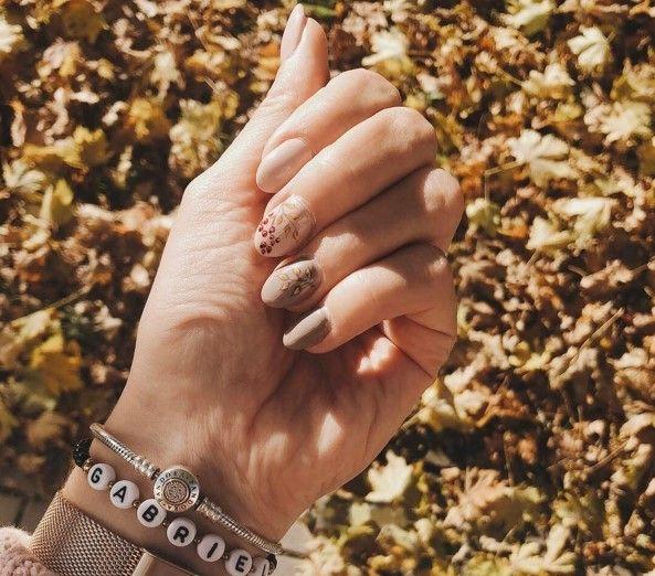 Маникюр - осень