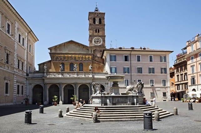Санта-Мария-ин-Трастевере (Basilica di Santa Maria in Trastevere)