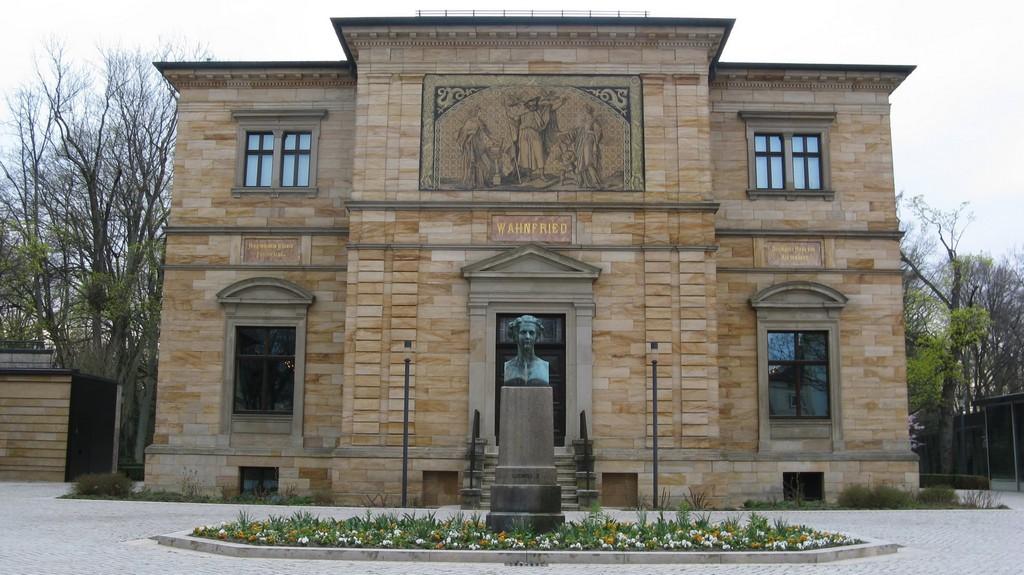 Музей Рихарда Вагнера в Байройте - вилла «Ванфрид» (Richard Wagner Museum (Wahnfried))