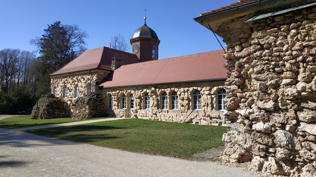 Старый замок, Эрмитаж