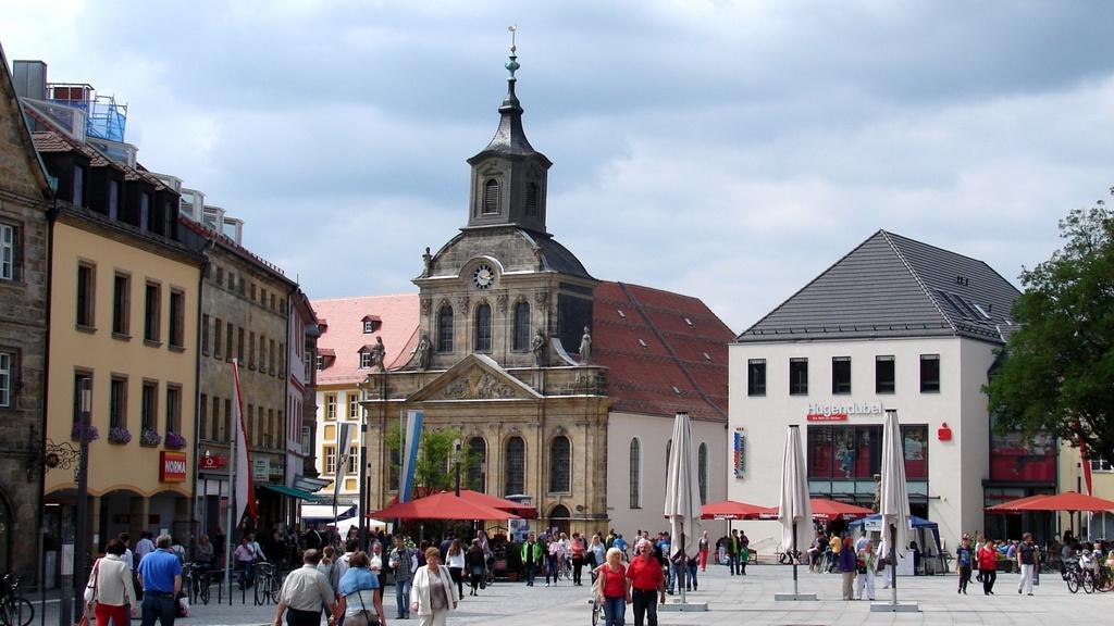 Больничная церковь (Spitalkirche) Байройт (Бавария)