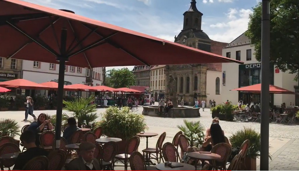 Маркплатц, Байройт (Marktplatz Bayreuth) Байройт (Бавария)