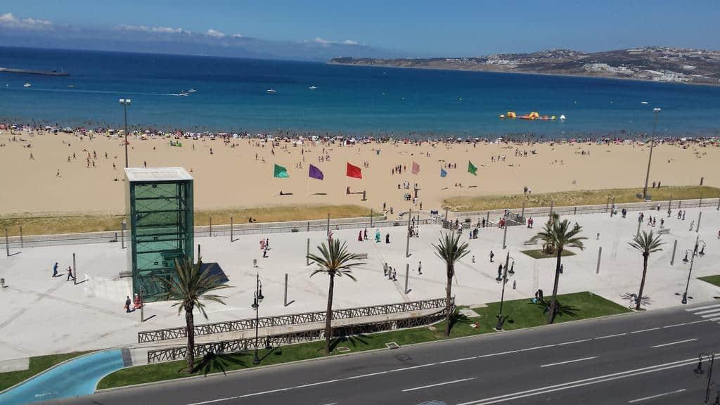 Пляж в Танжере