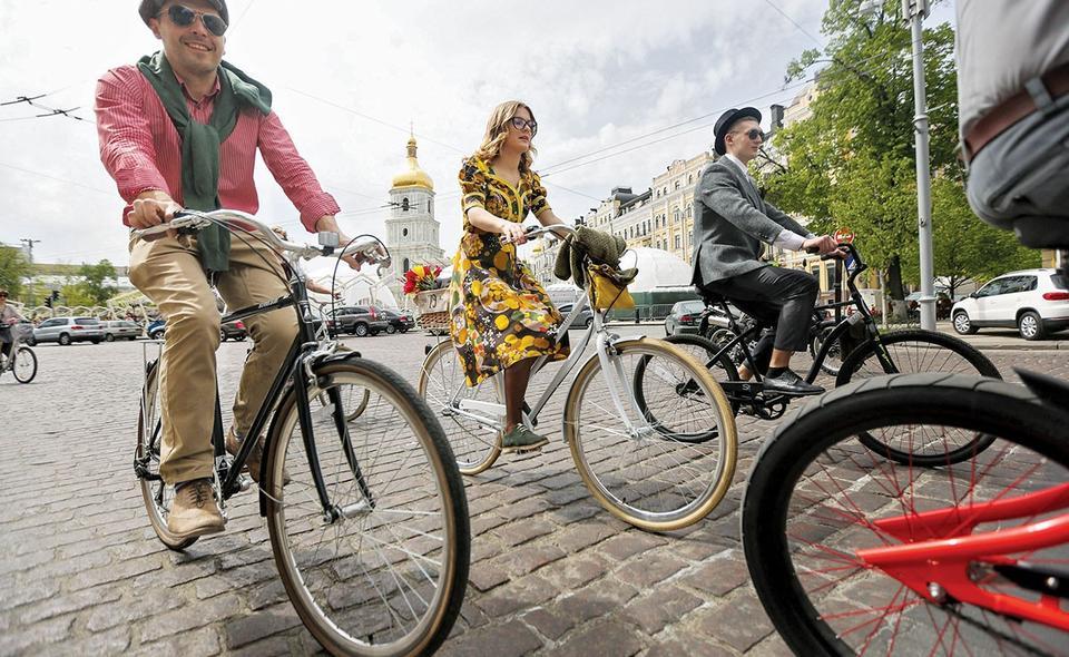 На велосипеде круто!