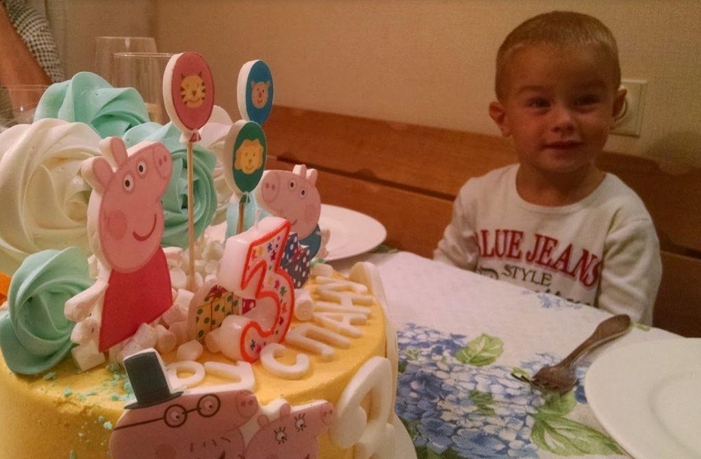 Торт мальчику на 3 года