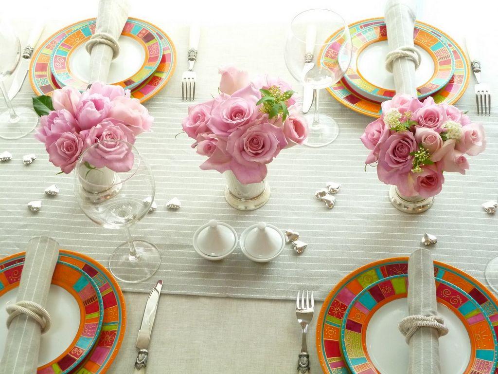 Сервировка и декорирование стола для Дня Рождения