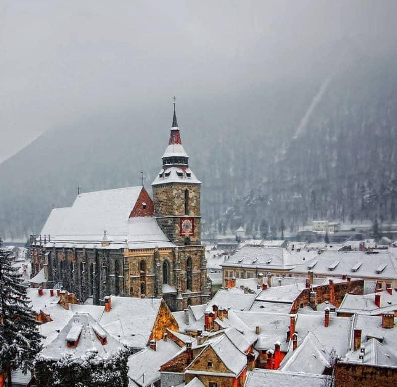 Черная церковь, Брашов Румыния