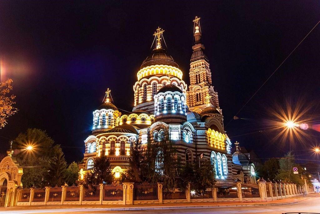 Благовещенский Собор в Харькове, 1888-1901