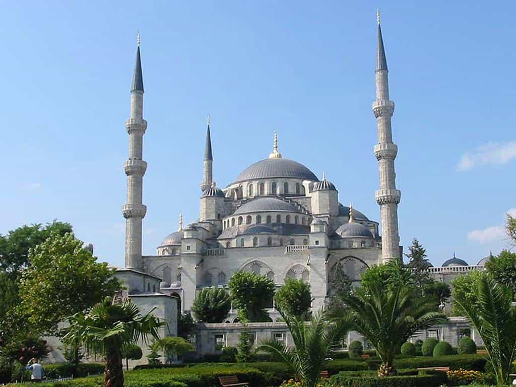 Голубая мечеть, Мечеть Султанахмет (Sultanahmet Camii), Стамбул (Istanbul) - Турция