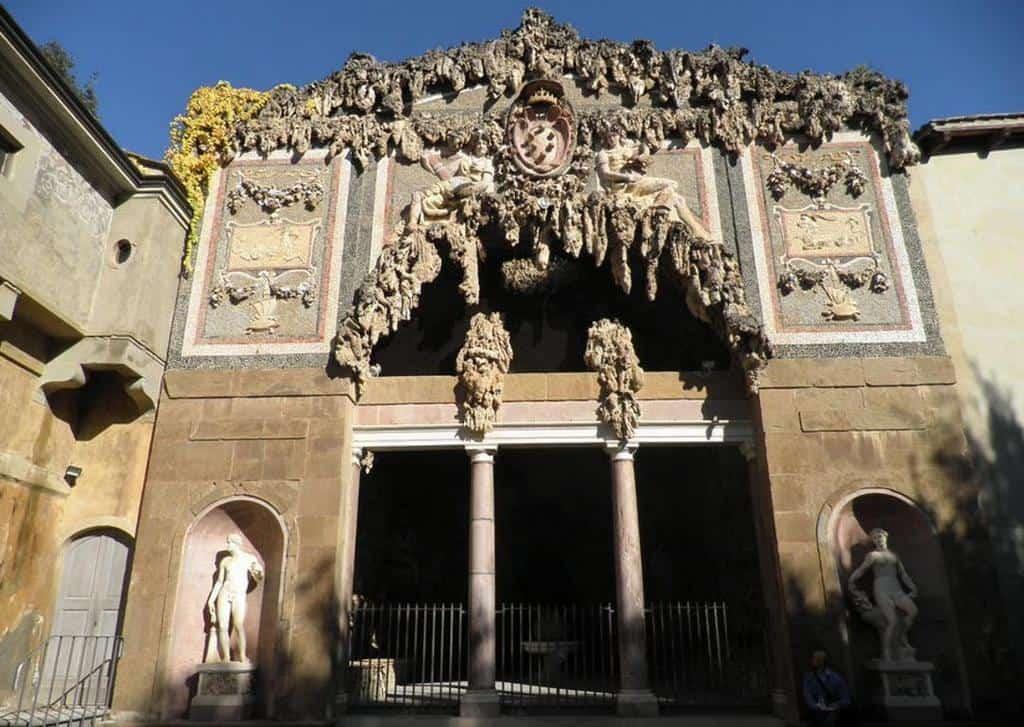 Большой грот Буонталенти (Grotta del Buontalenti)