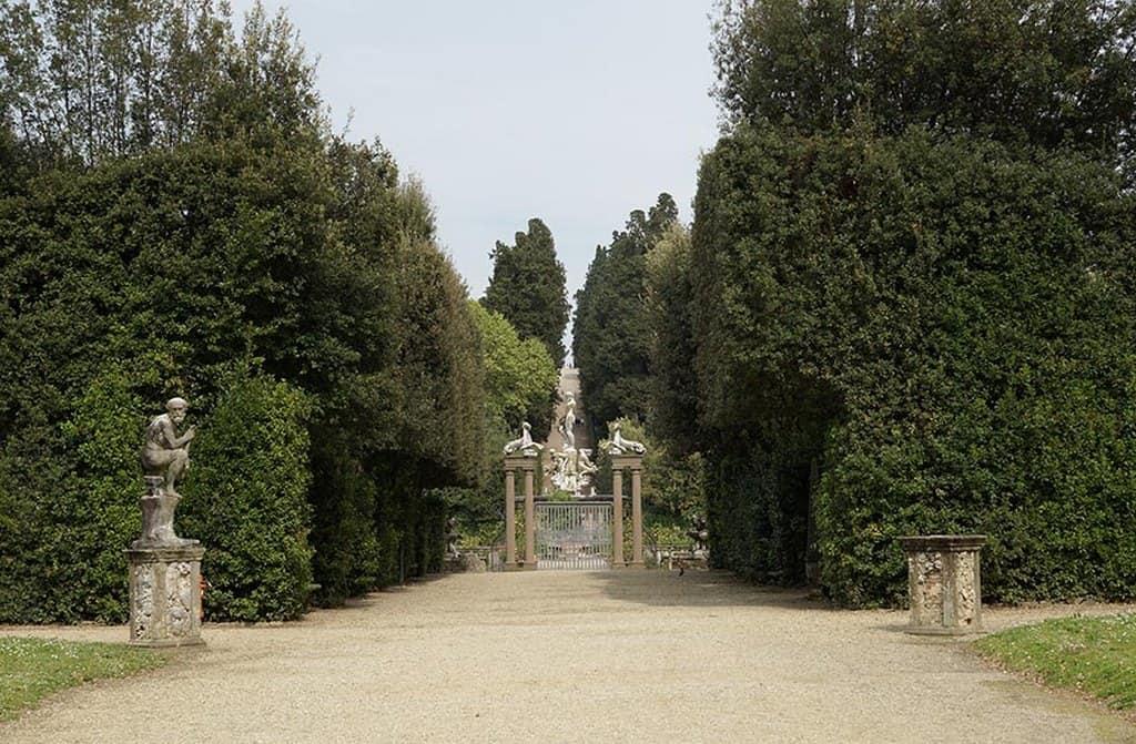 Сады боболи Флоренция Италия