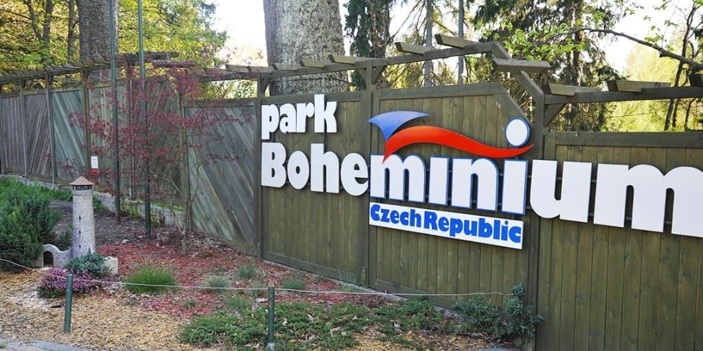 Парк Богеминиум, Марианске-Лазне (Park Boheminium Mariánské Lázně)