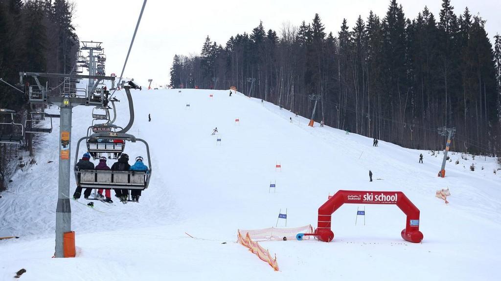 Курорт Буковель – лыжная школа, Украина